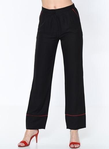 Pieces Pantolon Siyah